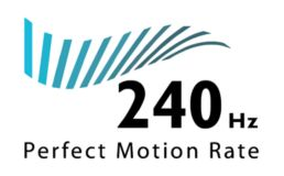 PMR (Perfect Motion Rate) de 240 Hz