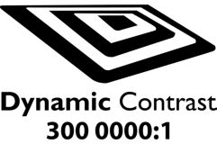 """Dynamic contrast 3000000:1"""