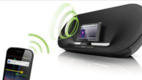 Transmisión de música por Bluetooth