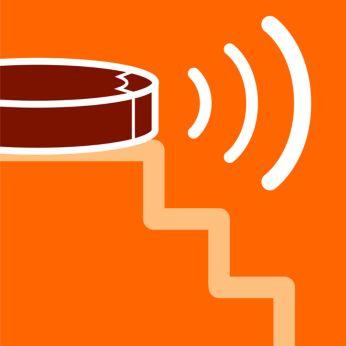 ИК-датчики позволяют перемещаться, обходя ступени