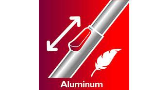 Удлиненная эргономичная ручка упрощает уборку даже самых труднодоступных мест
