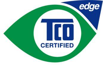 На 65% состоит из переработанного пластика по стандарту TCO Edge