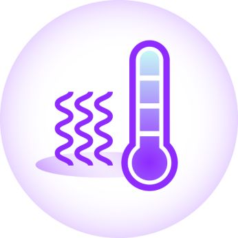 Warm use - to stimulate milk flow before breast feed