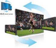 Schauen Sie mit dem WiFi Smart Screen* überall in Ihrem Zuhause Fernsehen