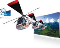 Регулировка глубины 3D-изображения