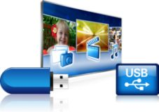 2 USB (file multimediali)