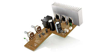 3 integrated power amplifier circuits for balanced sound