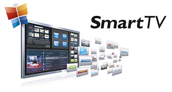 Smart TV voor onlineservices en toegang tot multimedia op TV