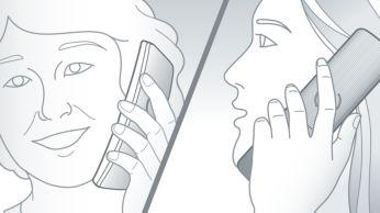 Anularea ecoului pentru sistemele de comunicare în ambele sensuri asigură o conversaţie perfectă