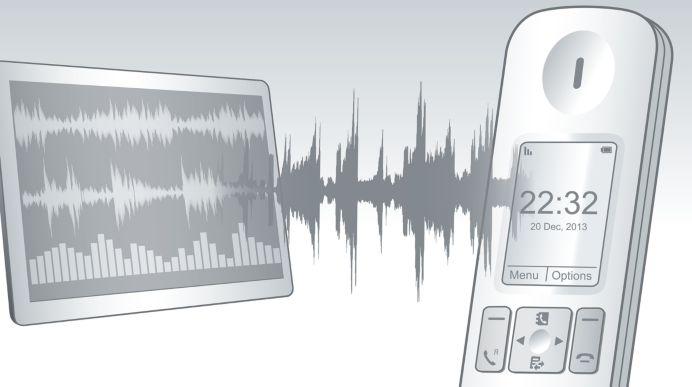 Erweiterte Soundtests und Einstellungen für erstklassische Sprachqualität