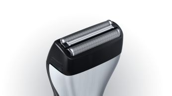 Dual shaver with trimmer shaves even the toughest beards