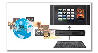 Conexión con teclado USB para explorar mejor Smart TV y navegar por Internet