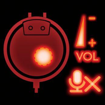 Кнопки отключения звука и регулировки громкости прямо на наушнике для быстрой настройки