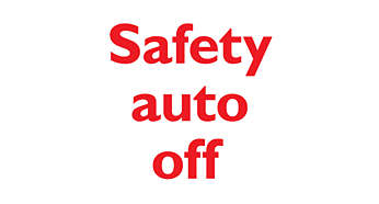 3 ways of Safety Auto Off