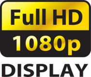 Full HD 1080p display