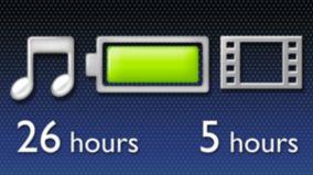 26часов музыки или 5часов видео