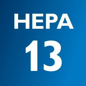 %99,95 filtreleme özellikli Ultra Clean Air HEPA 13 filtre