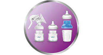 Compatible with other Philips Avent feeding products