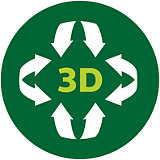 3D heating system