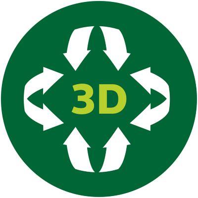 Распределение тепла по технологии 3D