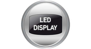 Clear LED display