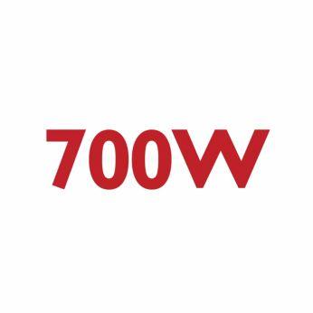 Jaudīgs 700 W motors