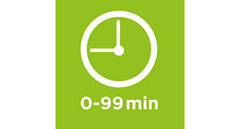 Timer up to 99 minutes, with ready signal