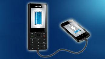 Портативное зарядное устройство для мобильного телефона. Всегда на связи!