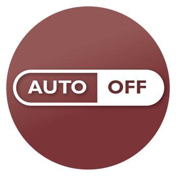 Automatische Abschaltung nach 30 Minuten für mehr Sicherheit und geringeren Energieverbrauch