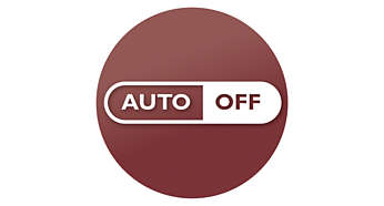 15-minute auto shut-off for energy saving