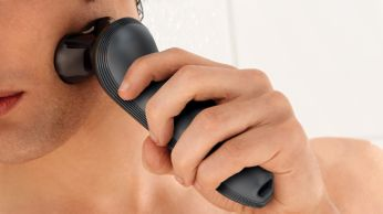 Easily shave even the most difficult to reach areas