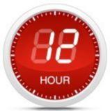 12-hour preset timer