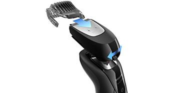 Kammaufsatz für Bart und Schnurrbart mit 5 Längeneinstellungen