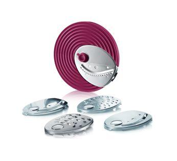 5 вставок в диск из нержавеющей стали для разнообразных форм и размеров