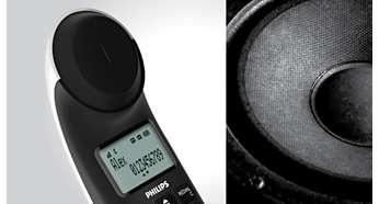 Testare a sunetului şi reglare avansate pentru calitate superbă a vocii
