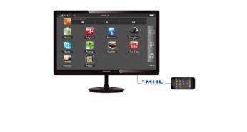 Mobil içeriğin keyfini büyük ekranda çıkarmak için MHL teknolojisi