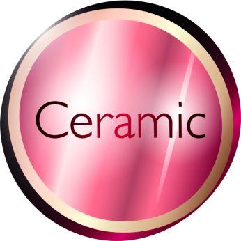 Щипцы для завивки: защитное керамическое покрытие обеспечивает равномерное распределение тепла