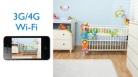 Watch your baby on 3G/WiFi/4G