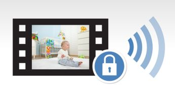 Video encrypted for secure connection
