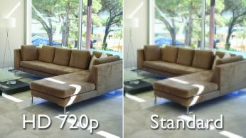 HD video quality for clear viewing