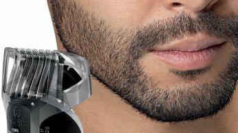 Bartkammaufsatz mit 18 Längeneinstellungen