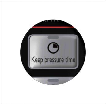 0-59 mins adjustable period to keep pressure