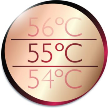 Thermoprotect for a constant caring temperature of 55°C