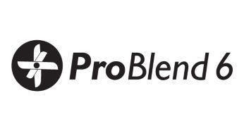 Technologia ProBlend: 6-ramienne ostrze umożliwia skuteczniejsze miksowanie i krojenie