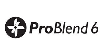 ProBlend 6 star blade for blending and cutting effectively