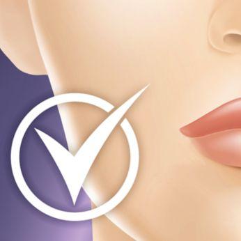 Güvenli yüz uygulaması için hassas bölge başlığı