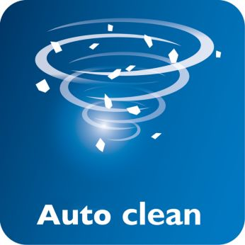Функция автоматической очистки для продолжительного срока службы