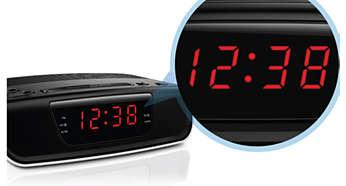 Integruotas laikrodžio ekranas
