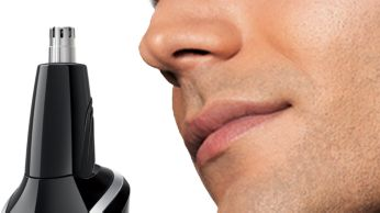 Nosetrimmer: Comfortably remove unwanted hairs