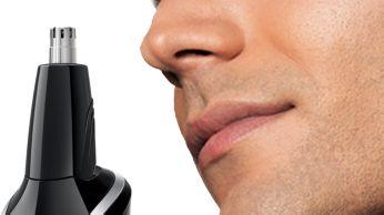 Nasenhaartrimmer: bequemes Entfernen unerwünschter Haare